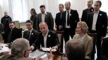 Три коалиции се регистрираха днес в ЦИК за участие в изборите