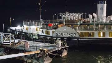 Корабът Радецки се завърна в Козлодуй след ремонт