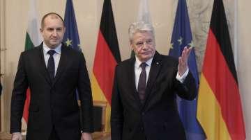Румен Радев напомни в Германия, че трябва да станем част от Шенген