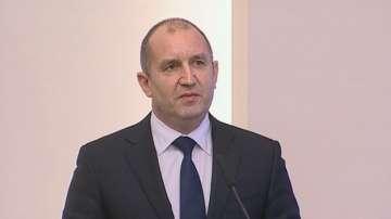 Президентът Румен Радев: България се връща като фактор във външната политика