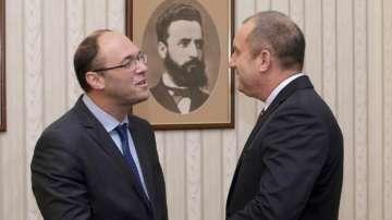 Президентът Радев се срещна с външния министър на Хърватия