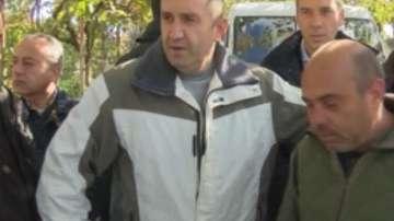 Румен Радев: Недостатъчна е помощта от 325 лв за пострадалите в Бургаско