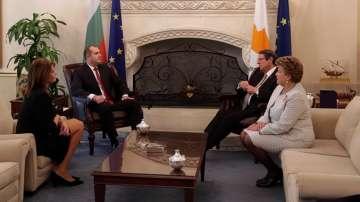 Президентът Радев е на посещение в Кипър