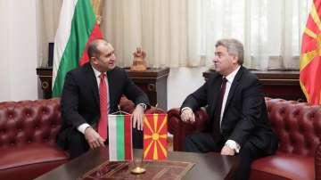 Продължава посещението на президента Радев в Македония