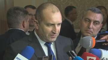 Румен Радев е склонен да разговаря с Милош Земан за сделката с ЧЕЗ