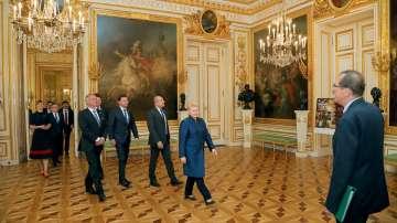 Президентът Румен Радев посети Варшава