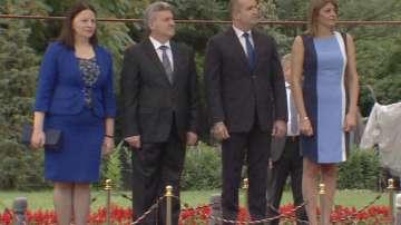 Започна визитата на македонския президент в България