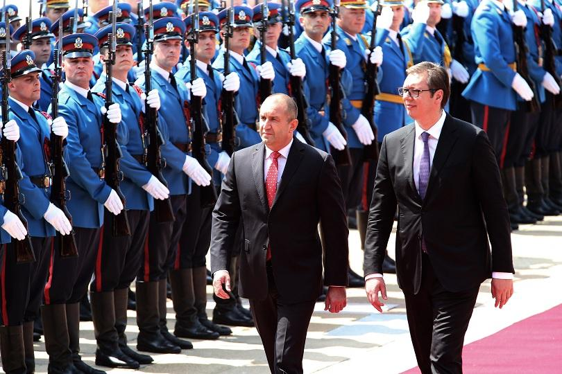 Втори ден от посещението на президента Румен Радев в Сърбия.