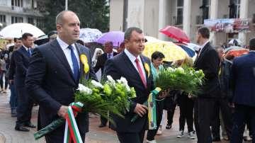 Президентът Радев поздрави жителите на Павликени по случай празника на града