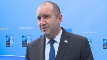 Румен Радев коментира предстоящата си среща с Ердоган