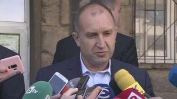 Президентът коментира забраната за медиите да оповестяват текущи резултати