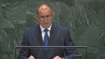 Президентът Радев произнесе реч пред Общото събрание на ООН