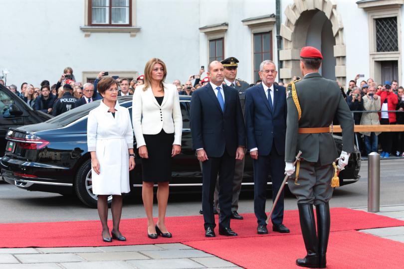 Президентите на България и Австрия призоваха за съживяване на Дунавската