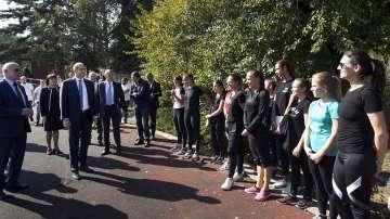 Президентът стартира инициатива за насърчаване на спорта и социалното общуване