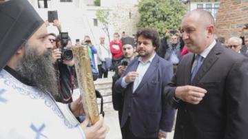 Президентът Румен Радев ще посети Зографския манастир в Света гора