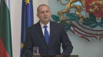 Румен Радев: Имам високи амбиции за България