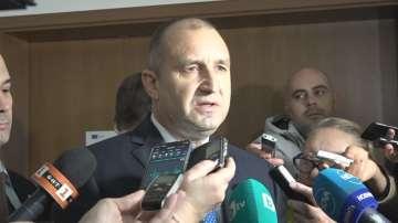 Румен Радев: Чакам отговор на въпросите си към Борисов и Гешев