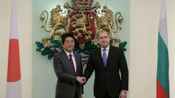 Румен Радев се срещна с премиера на Япония Шиндзо Абе