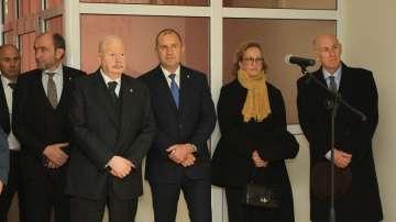 Президентът и великият магистър на Малтийския орден дариха уникална апаратура