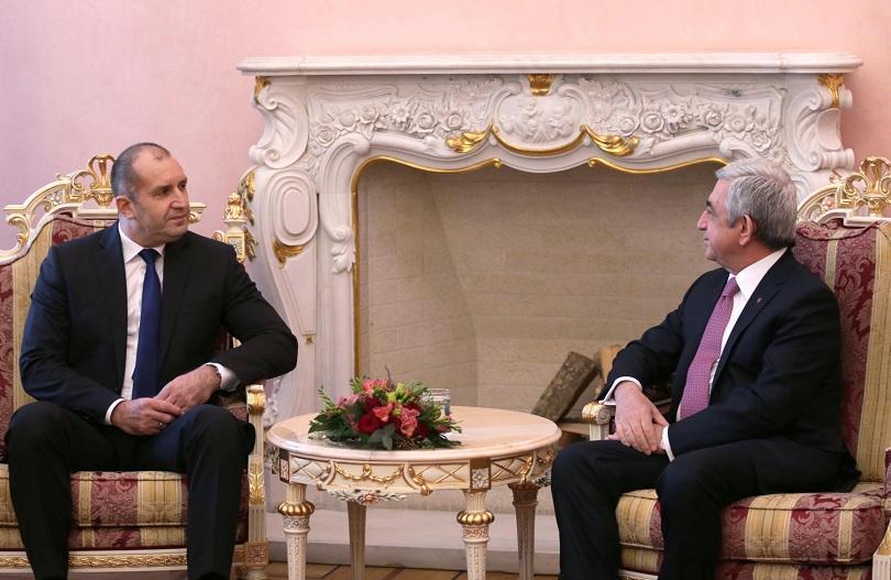 снимка 1 Румен Радев: България приема Армения като надежден партньор