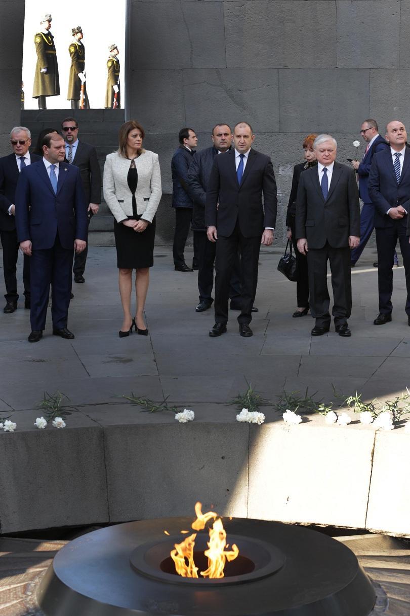 снимка 3 Румен Радев: България приема Армения като надежден партньор