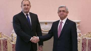 Румен Радев: България приема Армения като надежден партньор