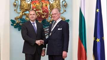"""Президентът на Световния еврейски конгрес беше удостоен с орден """"Стара планина"""""""