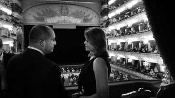 Президентът Радев и съпругата му на опера в Болшой театър (СНИМКИ)