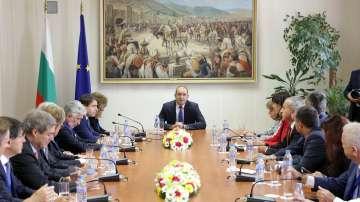 Румен Радев се срещна с президентите на Конфедерацията на европейския бизнес
