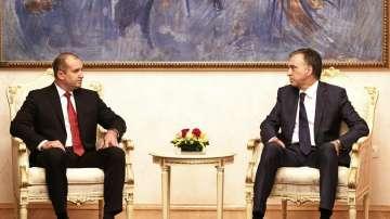 Президентът Радев се срещна в Подгорица с черногорския си колега