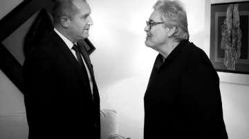 Румен Радев: Разделихме се с един от най-обичаните актьори на нашето съвремие