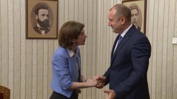 Генералният директор на ЦЕРН се срещна с президента Радев