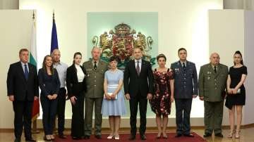 Президентът Радев произведе трима генерали (ГАЛЕРИЯ)