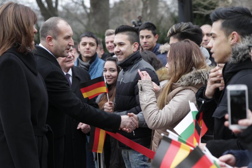 снимка 3 Румен Радев напомни в Германия, че трябва да станем част от Шенген