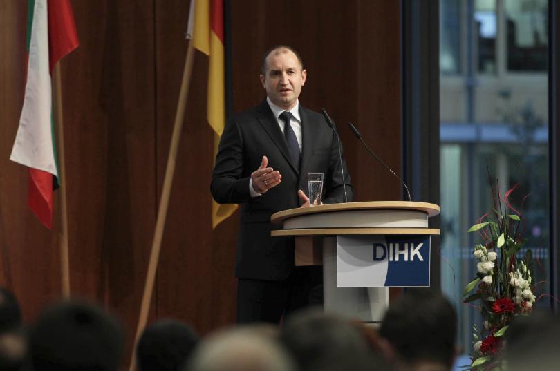 снимка 6 Румен Радев напомни в Германия, че трябва да станем част от Шенген