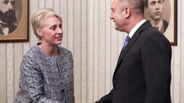Румен Радев и Ема Хопкинс обсъдиха отбраната и сигурността