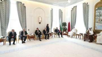 Президентът Радев разговаря с емира на Катар за бъдещи инвестиции у нас