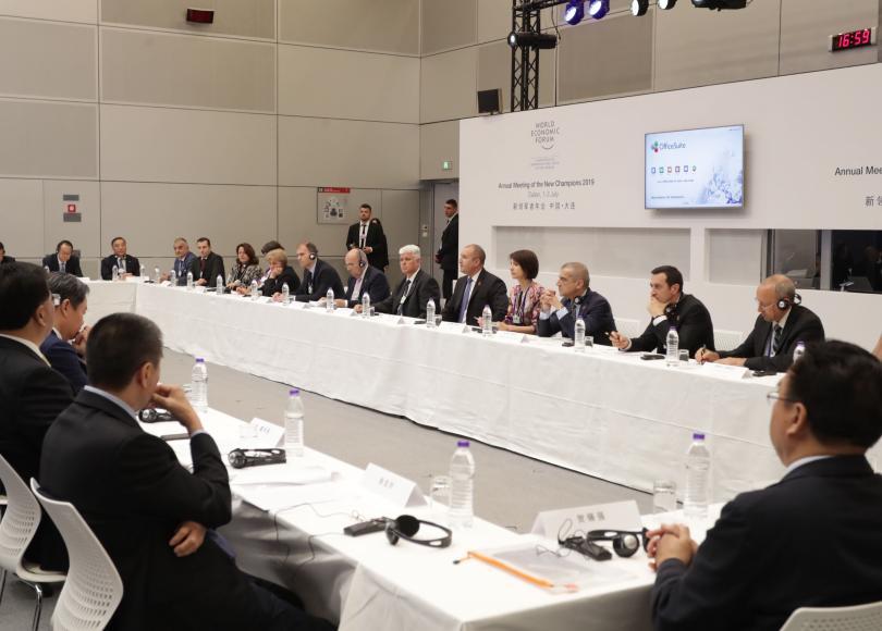 снимка 2 Президентът Радев покани държавните предприятия в Китай да инвестират в България