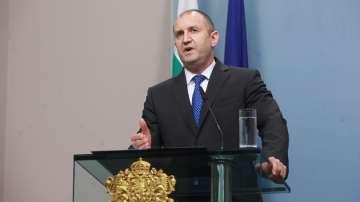 Президентът Радев след КСНС: Имаме криза на държавността