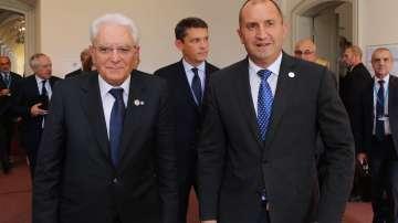 Президентите Румен Радев и Серджо Матарела разговаряха в Рига
