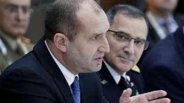 Президентът Радев проведе редица срещи с европейските му колеги