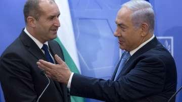 Президентът Радев се срещна с Бенямин Нетаняху и Махмуд Абас