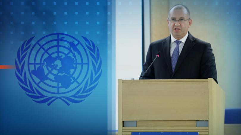 Президентът Румен Радев е в Женева, за да участва в