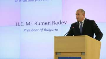 Президентът Радев участва в 41-ата сесия на Съвета на ООН по правата на човека