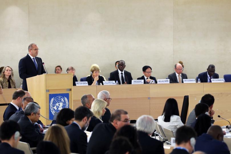 снимка 2 Президентът Радев участва в 41-ата сесия на Съвета на ООН по правата на човека