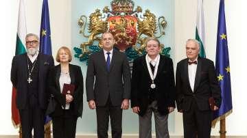 Президентът връчи висши държавни отличия за заслуги в областта на културата