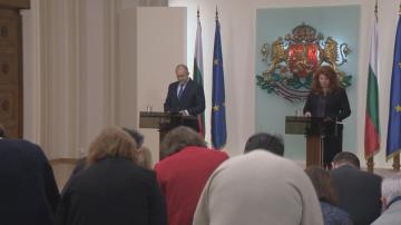 Президентът и вицепрезидентът отчетоха третата година от мандата си