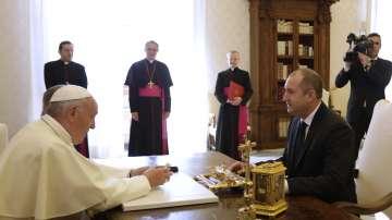 Папата е отдал признание на народа ни като пазител на делото на Кирил и Методий