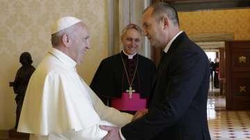 Президентът Румен Радев беше приет от папа Франциск