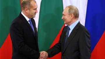 Президентът Румен Радев се срещна с Путин в Санкт Петербург